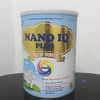 Sữa Dê NANO IQ PLUS GOAT PEDIA Dành Cho Bé từ 1-15 Tuổi Chuyên Tăng Cân Tăng Đề Kháng Chống Táo Bón Lon 900g