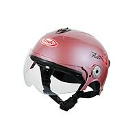 Mũ Bảo Hiểm Andes Nửa Đầu Có Kính - 3S108ME Bóng