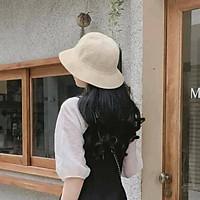 Mũ cói chữ M thời trang cực xịn, cực xinh