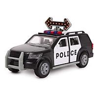 Đồ chơi mô hình Xe cảnh sát nhỏ SUV Driven by Battat