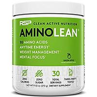 RSP Amino Lean Fruit Punch bổ sung năng lượng, cung cấp amino acid, hổ trợ giảm mỡ -30 lần dùng