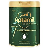 Sữa APTAMIL ESSENSIS ORGANIC A2 Số 1 -  Aptamil xanh hữu cơ đạm sạch ( Dành cho tre 0 - 6 tháng)