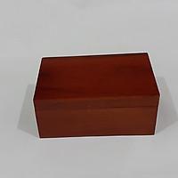 Hộp đựng trang sức bằng gỗ 12x 18,5 cm -hộp móc khóa cài