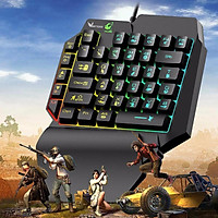Bàn Phím Giả Cơ K15 39 Phím Hỗ Trợ Chơi Game Pubg Mobile, Rules Of Survival, Free Fire Trên Điện Thoại, Máy Tính Bảng, Laptop Và PC - Hàng Chính Hãng