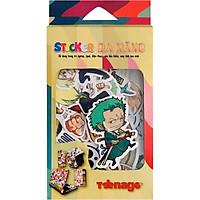 Sticker Casiofx Đa Năng One Piece Cực Ngầu 005 (40 Hình)