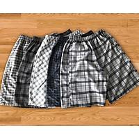 Quần đùi thể thao nam, Combo 5 Quần Short Nam Caro Chất Cotton Đẹp - Hàng xuất khẩu