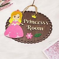 Bảng gỗ trang trí PRINCESS'S ROOM