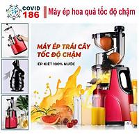 Máy ép hoa quả chậm X2000 đa năng, máy sinh tố xay hoa quả, rau củ, các loại hạt tiện dụng công suất lớn nhà bếp