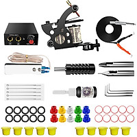 Comprehensive Professional Liner and Shader Tattoo Machine Set for Tattoo Artists Beginner