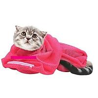 Túi lưới tắm và cắt móng cho mèo
