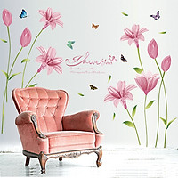 Decal Hoa anh thảo AmyShop DH07897 ( 85 x 160 cm )