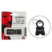 USB 32gb Kingston DT100G3 USB 3.0 - Hàng Chính Hãng + Tặng kèm móc khóa đa năng