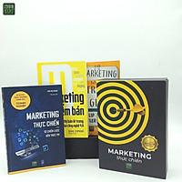 Combo 3 Cuốn Về Marketing Thực Chiến: Marketing Trên 1 Trang Giấy + Marketing Thực Chiến - Từ Chiến Lược Đến Thực Thi + Marketing Điểm Bán Tiếp Thị Bán Lẻ Trong Thời Đại 4.0