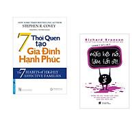 Combo 2 cuốn sách: 7 Thói Quen Tạo Gia Đình Hạnh Phúc + Mặc kệ nó làm tới đi