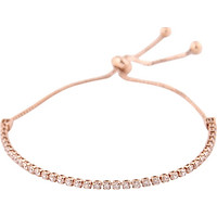 Hand Chain Bracelet Rose Gold Crystal Lady Gifts Charm