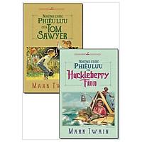 Combo Những Cuộc Phiêu Lưu Của Tom Sawyer + Những Cuộc Phiêu Lưu Của Huckleberry Finn (Bộ 2 Cuốn)