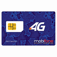 SIM 4G Mobifone MDT250A / F500N Dùng 4G Trọn Gói 1 Năm Không Cần Nạp Tiền - Chính Hãng