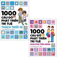 Combo 1000 câu đố phát triển trí tuệ