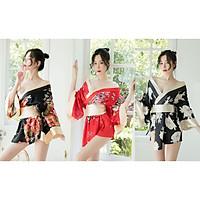 Cosplay Kimono Nhật Nhiều Màu Tặng Quần Lọt Khe + Đai Nơ Sexy Erotic Dress Nightwear Brave Man BCS21 A046