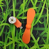 Quạt Mini Gắn Điện Thoại Chân Micro USB