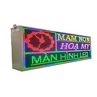 Biển quảng cáo màn hình LED thông minh HIKARU Full màu, 1 mặt hiển thị, KT cao 360 x rộng 1000