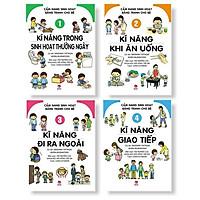 Combo Cẩm Nang Sinh Hoạt Bằng Tranh Cho Bé (Bộ 4Q)