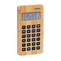 Máy tính để bàn Bamboo 12 chữ số hiển thị năng lượng mặt trời & Pin nút