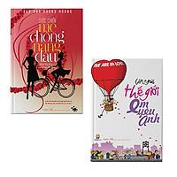 Bộ 2 cuốn sách Cuộc chiến mẹ chồng nàng dâu + Bên ngoài thế giới anh yêu em
