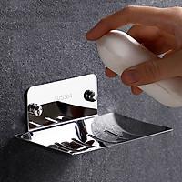 Kệ để Xà bông, xà phòng tắm Dán Tường KXB01 chất liệu Inox 304 Cao Cấp - Không Cần Khoan Đục