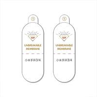 Combo 2 chiếc dán PPF Mặt Trước Xiaomi Mi Band 3/4 Trong Suốt- Handtown- Hàng Chính Hãng