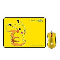 Bộ chuột + bàn di chuột giới hạn Razer Pokémon Pikachu