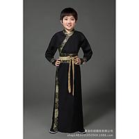 Trang Phục Cổ Trang Trung Quốc Trang Phục Đại Hiệp Hán Phục Cổ Trang Cho Bé Trai - Màu đen