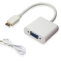 Cáp chuyển đổi Mini HDMI sang Vga có AV