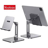 (Hàng chính hãng) Giá đỡ điện thoại, máy tính bảng Yoobao B3L có thể gấp gọn, chất liệu hợp kim nhôm cao cấp