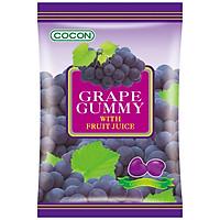 1 HỘP 12 GÓI KẸO DẺO HƯƠNG NHO COCON - COCON GRAPE GUMMY (12 Gói x100gr)