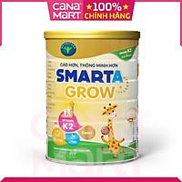 Sữa bột tốt cho bé Nutricare Smarta Grow, giúp trẻ tăng trưởng chiều cao, phát triển não bộ, dinh dưỡng cho trẻ thấp còi (900g)