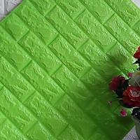 Combo 10 tấm xốp dán tường giả gạch đủ màu dày 7mm