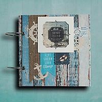 Scrapbook Ảnh Handmade Đại Dương Xanh