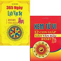 Combo 2 Quyển 365 Ngày Lịch Vạn Sự 2021 Tân Sửu + Xem Tử Vi 12 Con Giáp Năm Tân Sửu 2021