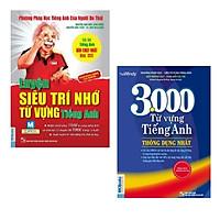 Combo sách: Luyện Siêu Trí Nhớ Từ Vựng Tiếng Anh + 3000 Từ Vựng Tiếng Anh Thông Dụng Nhất (Dùng Kèm App)