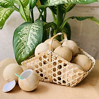 [Chỉ Giao HCM] - Combo 10 trái dừa xiêm gọt trọc (size trung)