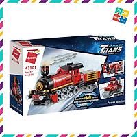 Bộ Đồ Chơi Xếp Hình Thông Minh Lego Qman 42101 Tàu Hỏa Siêu Tốc 305 Mảnh Ghép 3 Mẫu Biến Đổi Cho Trẻ Từ 6 Tuổi