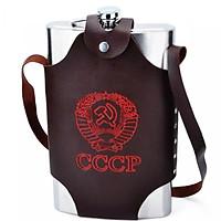 Bình inox đựng rượu CCCP Tuyền Thống Dung Tích 2.0L - 64OZ ( Loại 1 )