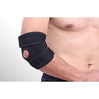 Bó dán Khuỷu tay Hỗ trợ Chống chấn thương màu đen