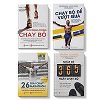 Sách - Combo 4 cuốn Nhật ký 365 + Chạy bộ để vượt qua + 26 giải chạy + Cuộc cách mạng trong chạy bộ