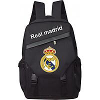 Balo thời trang TROY TR001-REAL phối nắp in logo câu lạc bộ Real Madrid