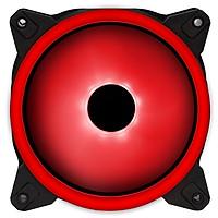 Quạt tản nhiệt XIGMATEK X12R (EN42487) - RED RING LED - Hàng Chính Hãng
