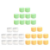 30x Empty Leakproof Cream Moisturizer Ointment Sample Container Jars 20/50/100g