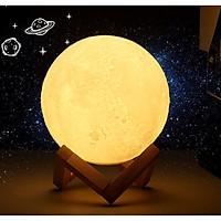 Đèn Led Ánh Trăng 3D  15Cm Màu Vàng Ấm Và Đa Sắc  Thích Hợp Trang Trí Trong Nhà