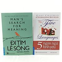 Combo đi tìm lẽ sống ,5 ngôn ngữ tình yêu
